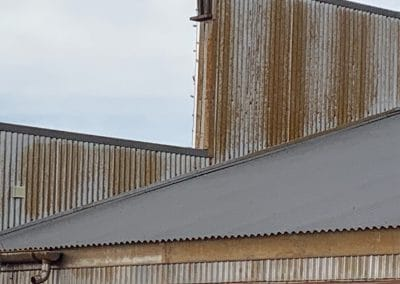 Metal roofing and siding used for homes and business
