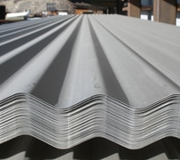 Second skin metal roofing at half inch thickness