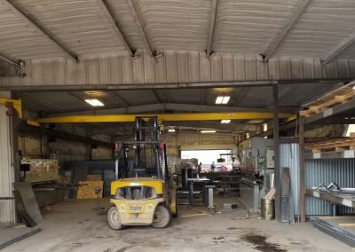 Shear brake shop at Recla Metals in Montrose